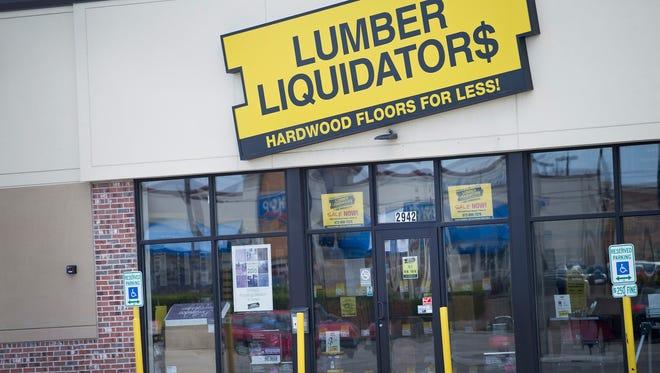 A Lumber Liquidators store in Cicero, Illinois.