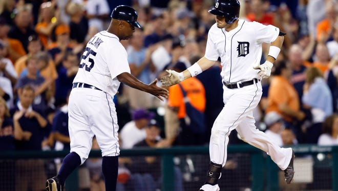 Tigers third baseman Nick Castellanos rarely pops up. That says a lot about his ability to hit the ball squarely and forecasts a potential power uptick.