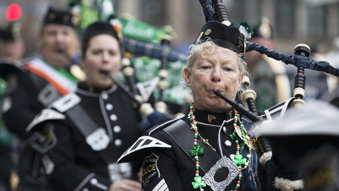 Rochester's St. Patrick's Day Parade starts at 12:30 p.m. Saturday, March 12, at East Avenue and Scio Street.