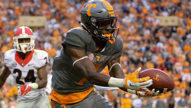 Preston Williams, a transfer from Tennessee, is one of three standout receivers in the 26-man 2017 signing class CSU announced Wednesday.