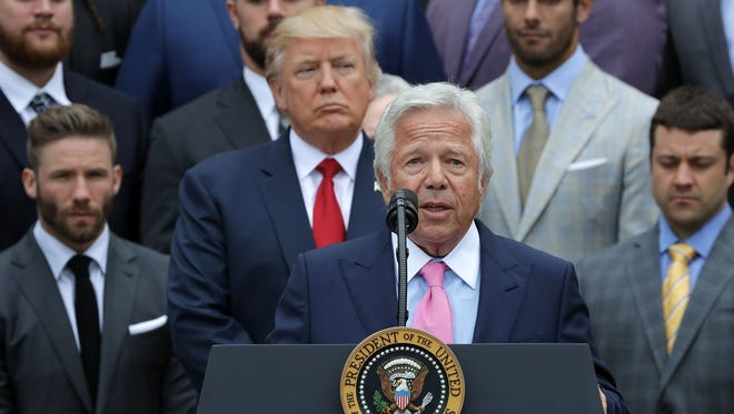 It's time for Robert Kraft and other NFL owners to stand up after President Donald Trump's comment about the league on Friday, says USA TODAY Sports' Jarrett Bell.