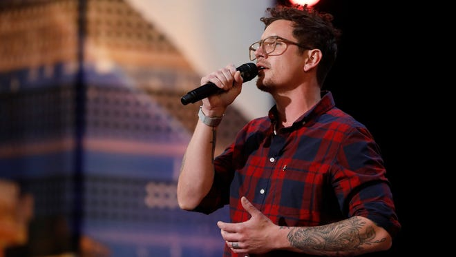 "Knoxville's Michael Ketterer auditions for ""America's Got Talent"" on June 5, 2018."