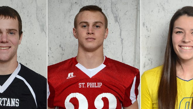 Lakeview's Jake Herbers, St. Philip's Kevin Greenman and Harper Creek's Kendall Latshaw are among the 120 finalists for the Michigan High School Athletic Association Scholar-Athlete Award.