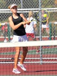 Stevens Point Area Senior High's Emily Luetschwager