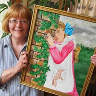 Hoying emerges as artist, re-ignites love for painting
