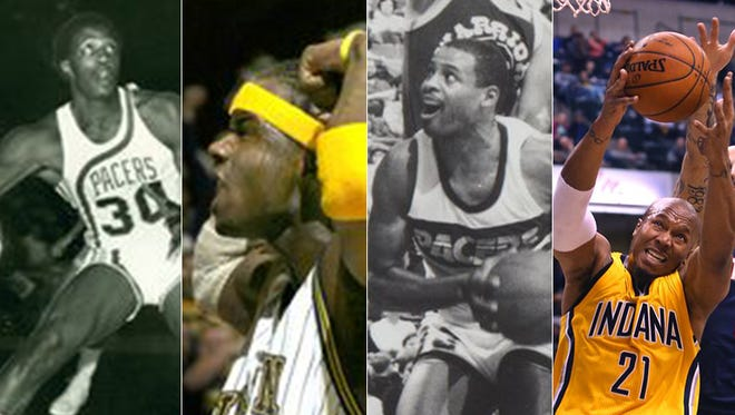 Ranking the top 10 power forwards in Pacers history
