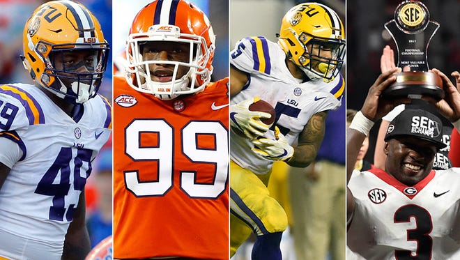 The Colts' first round 2018 NFL Draft Pick will likely be in the top five. These are some of the guys they might take.