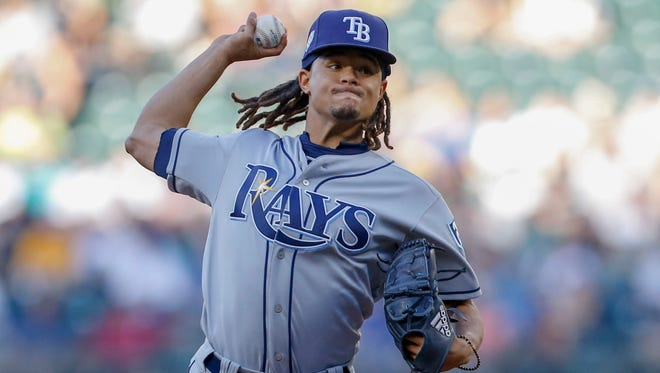 Chris Archer is 3-5 with a 4.31 ERA this year and 22-36 with a 4.10 ERA the last three years.