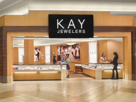 Kay is the largest specialty retail jeweler by sales in the USA. It, along with Zales Jewelers, Peoples Jewelers, Piercing Pagoda and Ernest Jones, are part of the conglomerate Signet Jewelers.