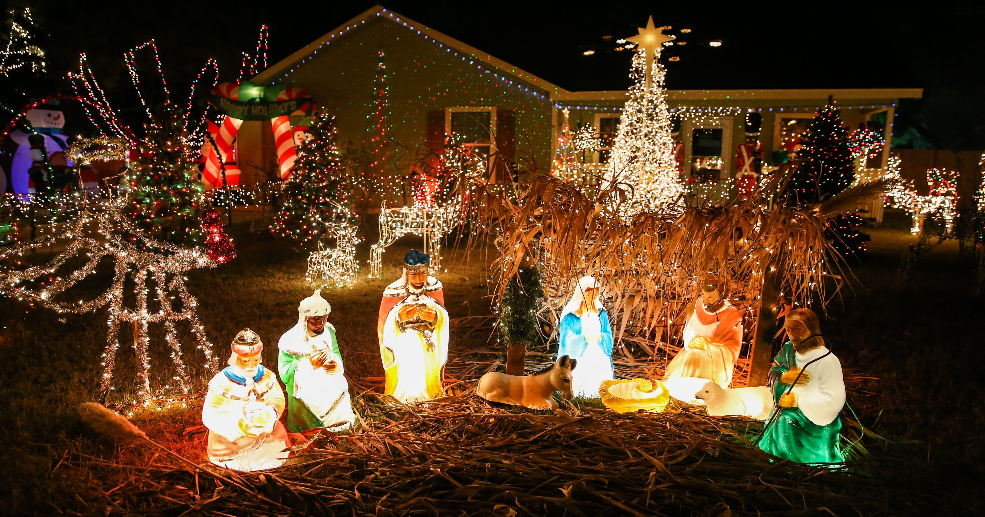 here are some safety tips for decorating with christmas lights