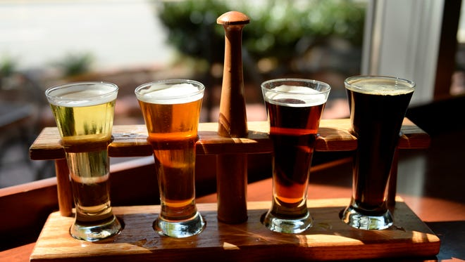 The increased popularity of craft beers is help ing to boost beer sales.