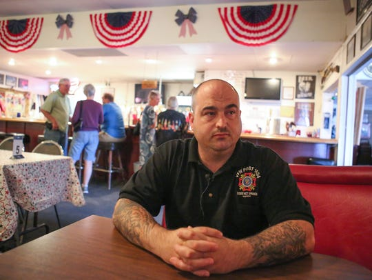 Jeff Horton has been commander of VFW Post 1534 in