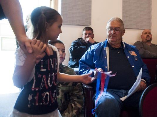 Dutton-Brady Veterans Day celebration