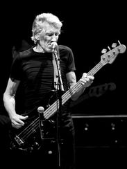 Musician Roger Waters performs during Desert Trip at