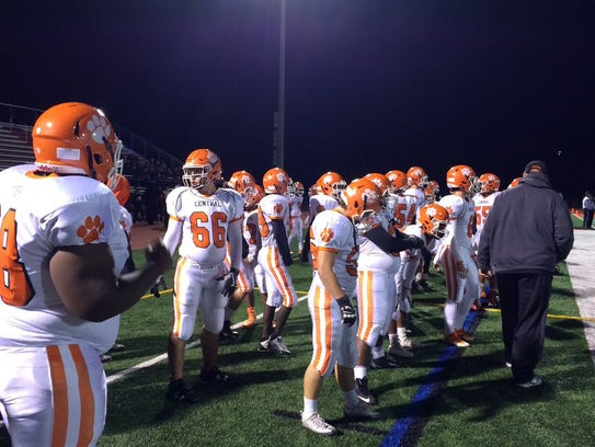 Central York's football season ended in a 55-23 loss