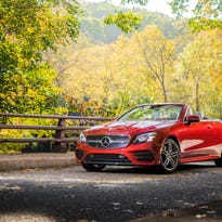 2018 Mercedes-Benz E400 has sports car moves