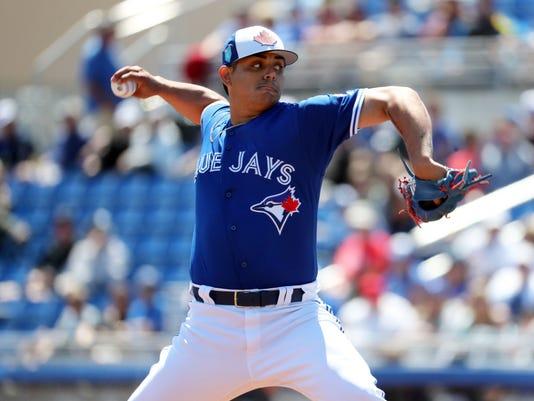 MLB: Spring Training-Tampa Bay Rays at Toronto Blue Jays