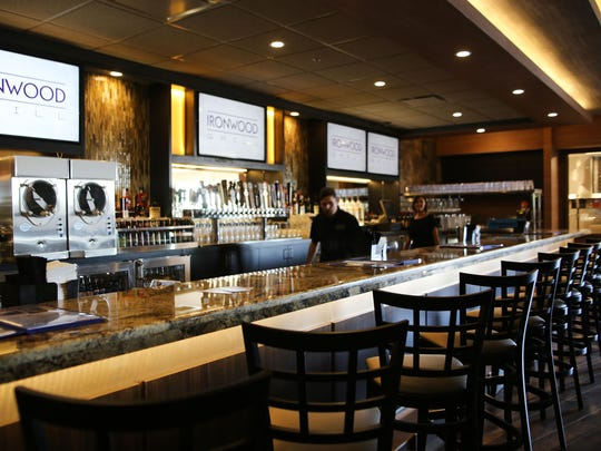 Ironwood Grill, a casual family dining restaurant with a full bar.