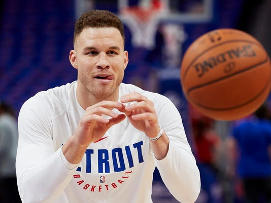 Arrival of blake griffin creates momentary buzz for detroit pistons m4hsunfo