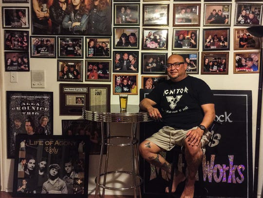Robb Chavez will bring his passion for metal music