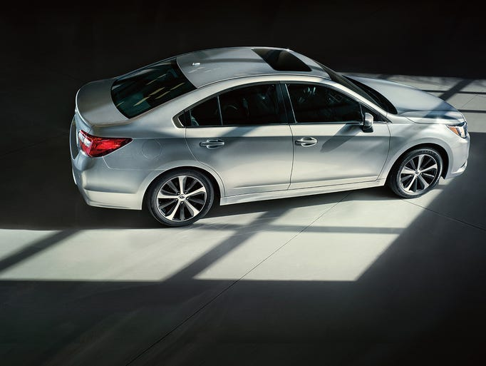 The completely re-designed for 2015 Subaru Legacy delivers