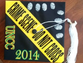"""A contributor shared a photo of his wife's unique graduation cap. """"I know from the look of it you'd never be able to tell she is a criminal justice major. But it does look amazing and I am so proud of her."""""""