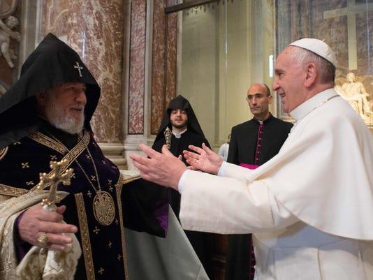 Francis, Karekin II
