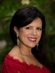 Ikram Elharti, founder and CEO of Sarah Rose skin products.