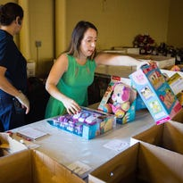 #LiveSWFL: Holiday magic: Reporter volunteers at Salvation Army toy shop in Naples