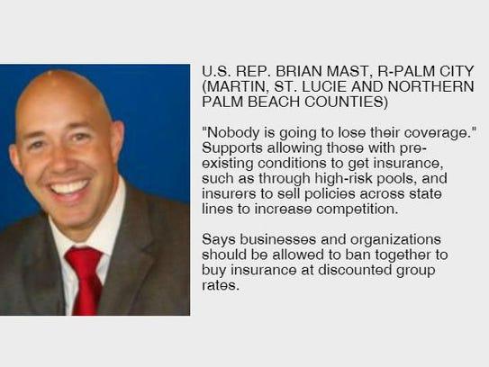 U.S. Rep. Brian Mast