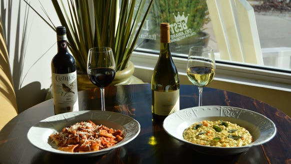 """""""The right wine can complement and enhance a dish's"""