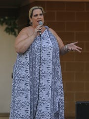 Comedy Night with Lori Graves and Friends was held Wednesday evening, Aug. 12, 2015, at the Ross County Fair.