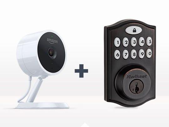 Amazon Key's Cloud Cam and Smart Lock.
