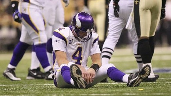 Brett Favre made one mistake as Vikings QB in 2009. It was costly.