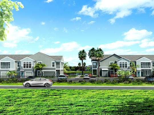 A rendering of Springs at Hammock Cove in East Naples.
