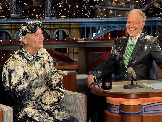 Bill Murray, David Letterman