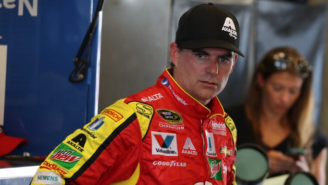 Jeff Gordon will go for a record sixth Brickyard 400 win, this time in the No. 88 car while subbing for Dale Earnhardt Jr., on Sunday.