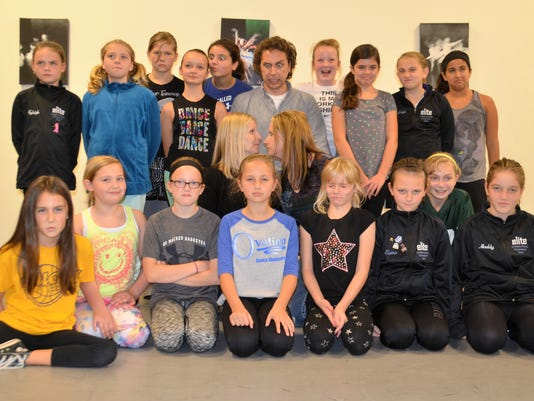 Tim Stoltenberg visits dance studio