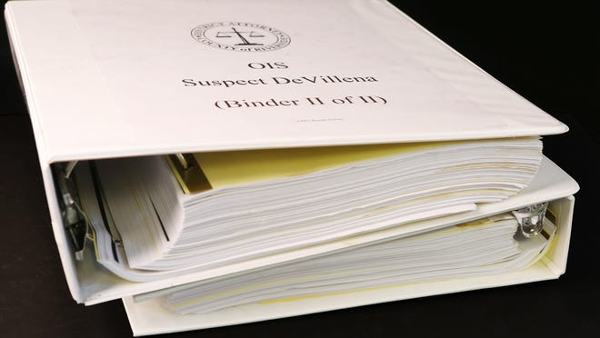 These files, which cover a 2012 police shooting in meticulous detail, were released by the DA's Office in February. Under the DA's new policy, documents like this will no longer be made public.