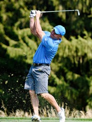 Steve Goodley finished third at the York County Amateur,