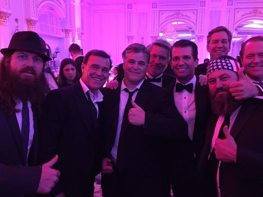 Don Trump Jr. Tweeted this photo from an inaugural ball.