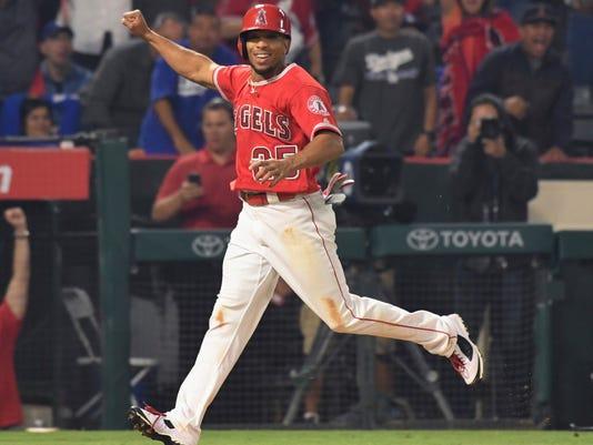 USP MLB: LOS ANGELES DODGERS AT LOS ANGELES ANGELS S BBA LAA LAD USA CA