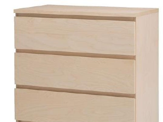 Officials report fourth child death linked to ikea malm for Media dresser ikea
