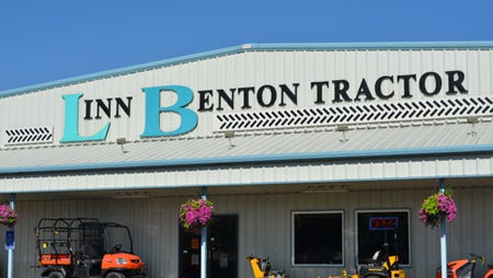 Linn Benton Tractor has store fronts in Silverton and Tangent