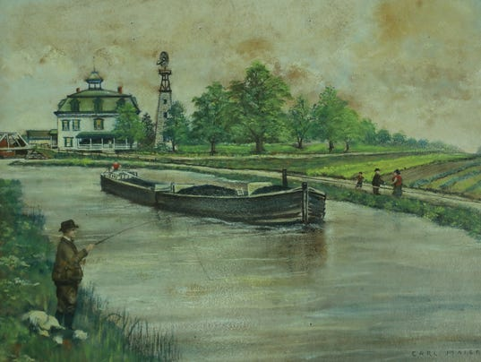 History of the Morris Canal.