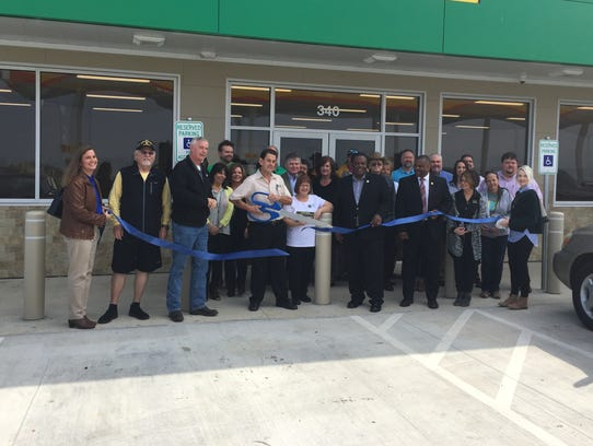 The Chamber of Commerce held a ribbon cutting Friday