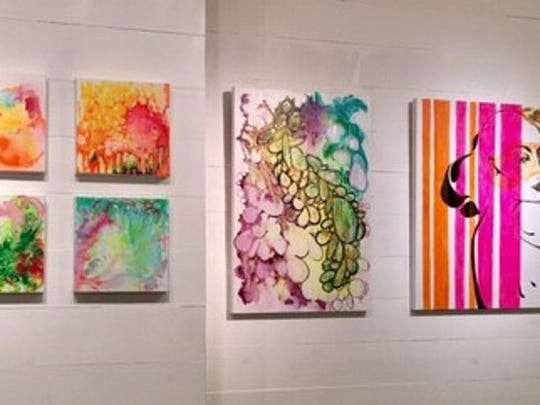Local artist Ines Krolo's gallery at Chestnut Center