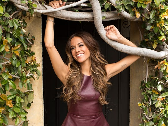 Jana Kramer performs at the Eichelberger Performing