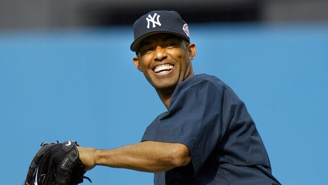 Mariano Rivera is known to shag flies during batting practice before games.