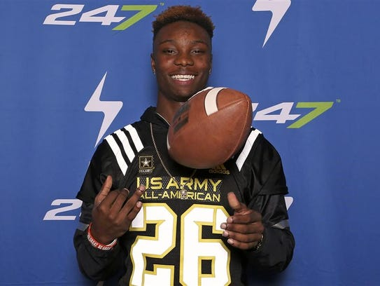 FSU target Henry Ruggs III checks in at the Army All-American